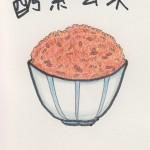 one sentence diary  「酵素玄米」
